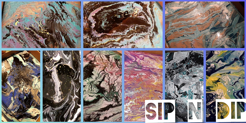 """Sip N Dip """"Dirty Pour"""" Abstracts"""