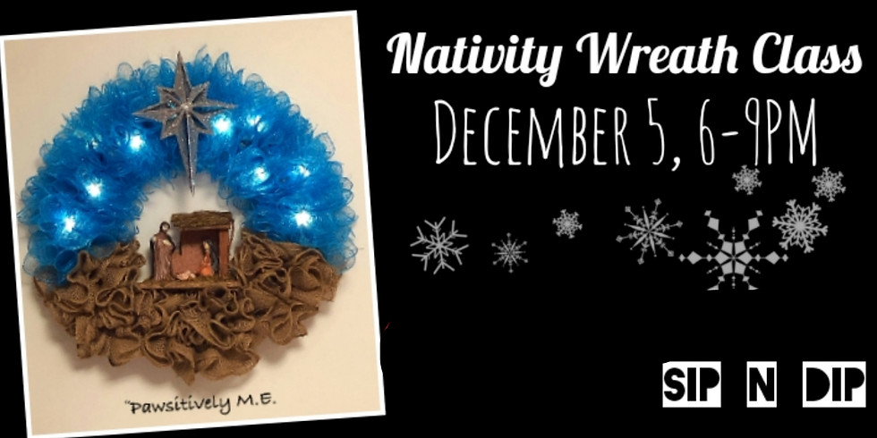 Nativity Scene Wreath Making Class