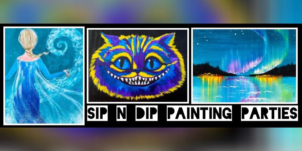 Sip N Dip® The Ultimate Paint Night Experience (Mount Hope, WV)