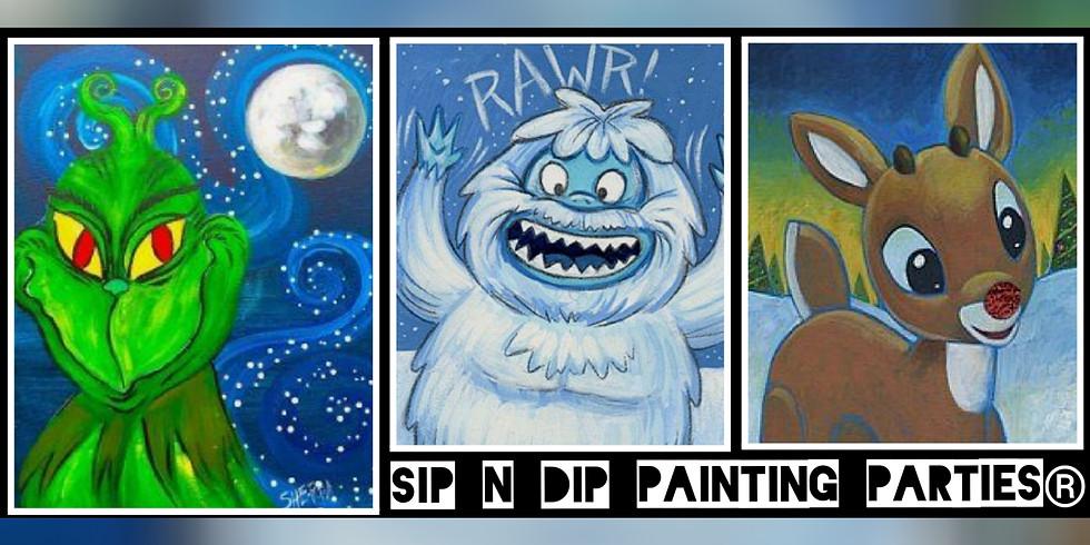 Sip N Dip ® Psychic Medium Paint Night at Buffalo Wild Wings (Morgantown, WV)