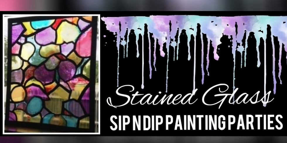 """""""Stained Glass"""" Sip N Dip, Buffalo Wild Wings Lavale MD"""