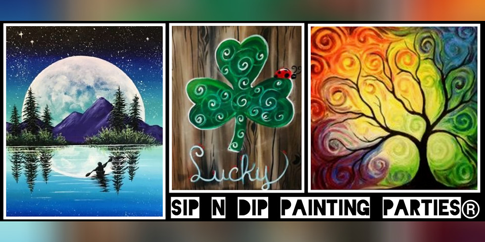 Sip N Dip® St. Patty's Day with The Mountain MD Medium(Bridgeport, WV)