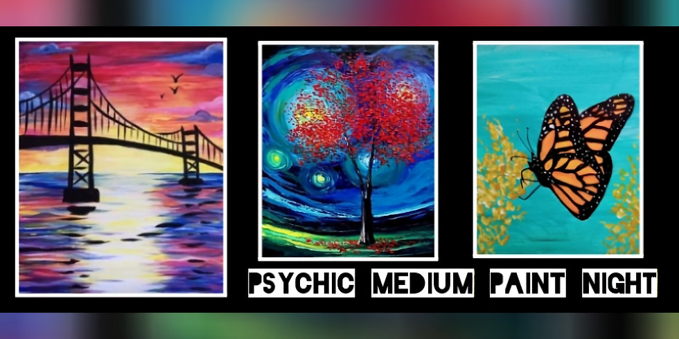 Psychic Medium Paint Night with Sip N Dip at Buffalo Wild Wings (Lavale, Md)