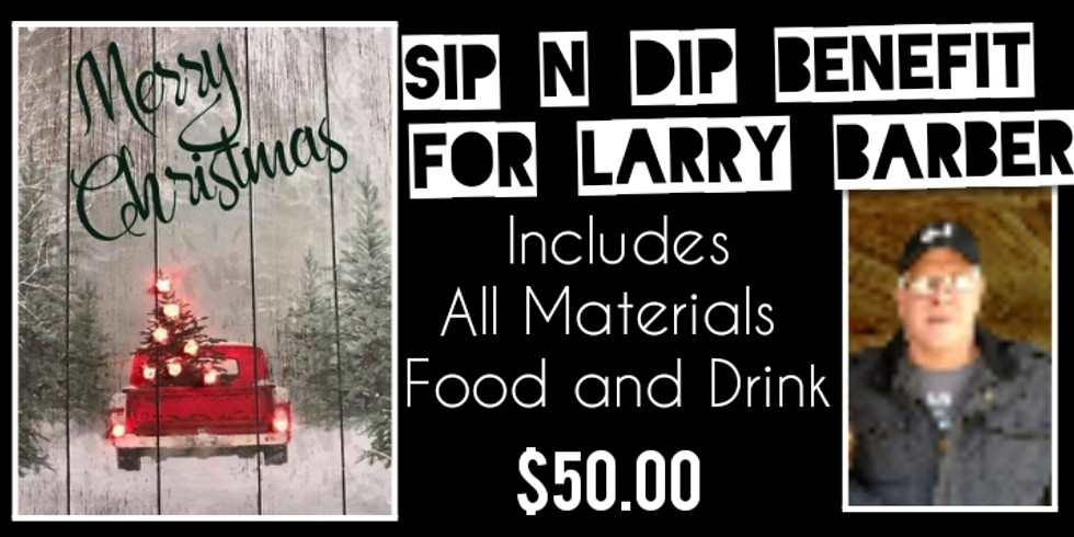 Sip N Dip Benefit for Larry Barber at The Gymnasium of Art