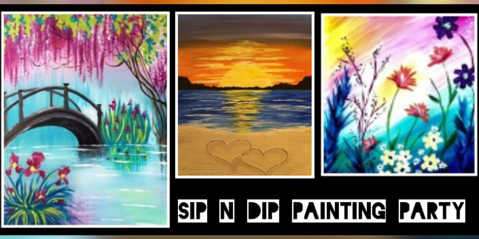 Sip N Dip Fundraiser for Arnettsville Community Center