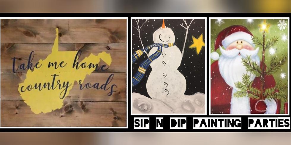 Sip N Dip® Trio Fundraiser for DAR/WREATHS ACROSS AMERICA