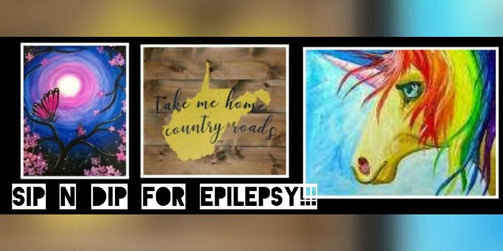 Sip n Dip for Epilepsy @ Atria's in Morgantown WV