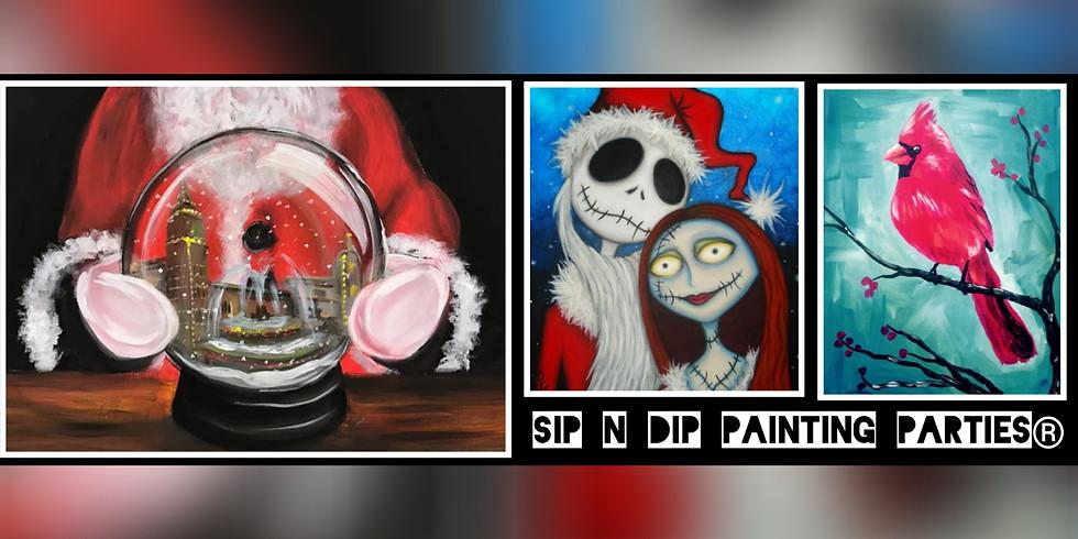 Sip N Dip® Psychic Medium Paint Night at Buffalo Wild Wings (Bridgeport, WV)
