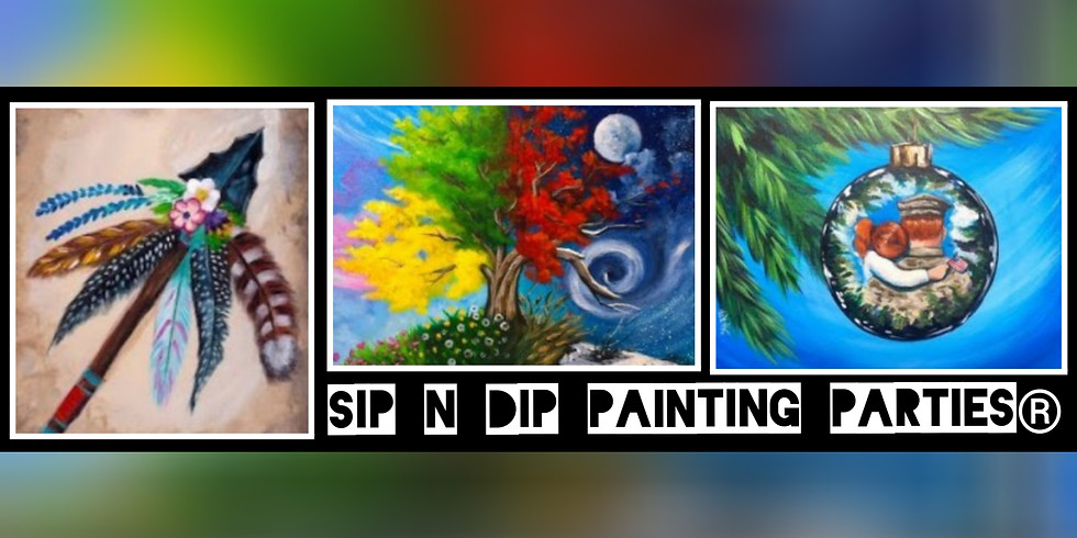Sip N Dip ® Psychic Medium Paint Night at Buffalo Wild Wings (Mount Hope, WV)