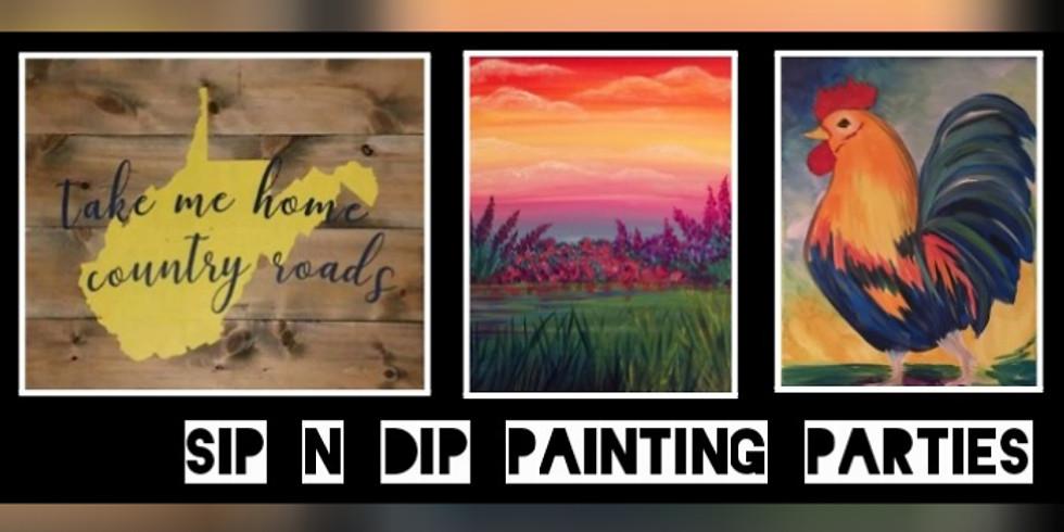 Psychic Medium Paint Night with Sip N Dip at Iron Horse Tavern(Morgantown)