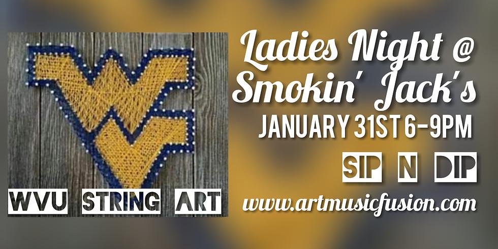 Ladies Night String Art with Sip N Dip at Smokin'Jack's
