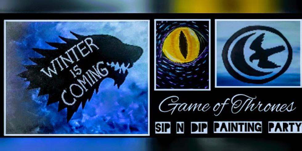 Game of Thrones Sip N Dip, Buffalo Wild Wings UTC (Morgantown, WV)
