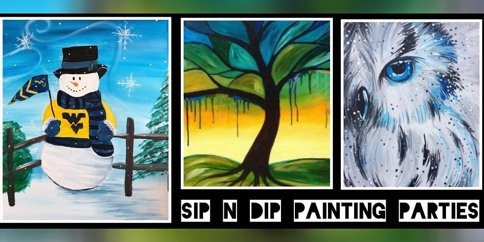 Sold Out!!! Sip N Dip® Psychic Medium Paint Night (Morgantown, WV)