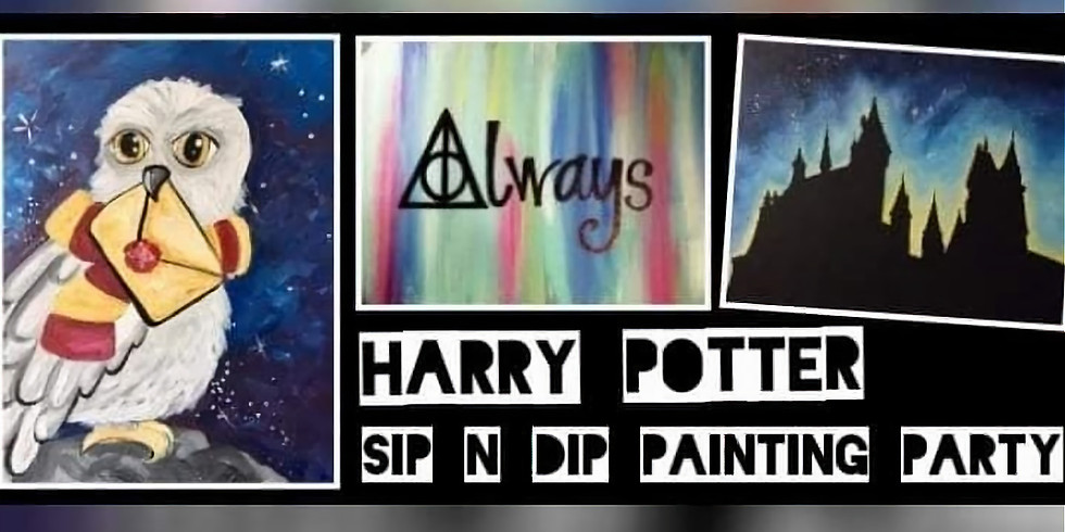 Harry Potter Paint Night w/Sip N Dip at Buffalo Wild Wings (Clarksburg WV)