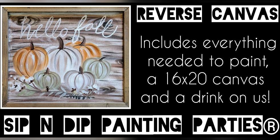 Sip N Dip ® Reverse Canvas/Psychic Medium Paint Night at Buffalo Wild Wings (Bridgeport, WV)