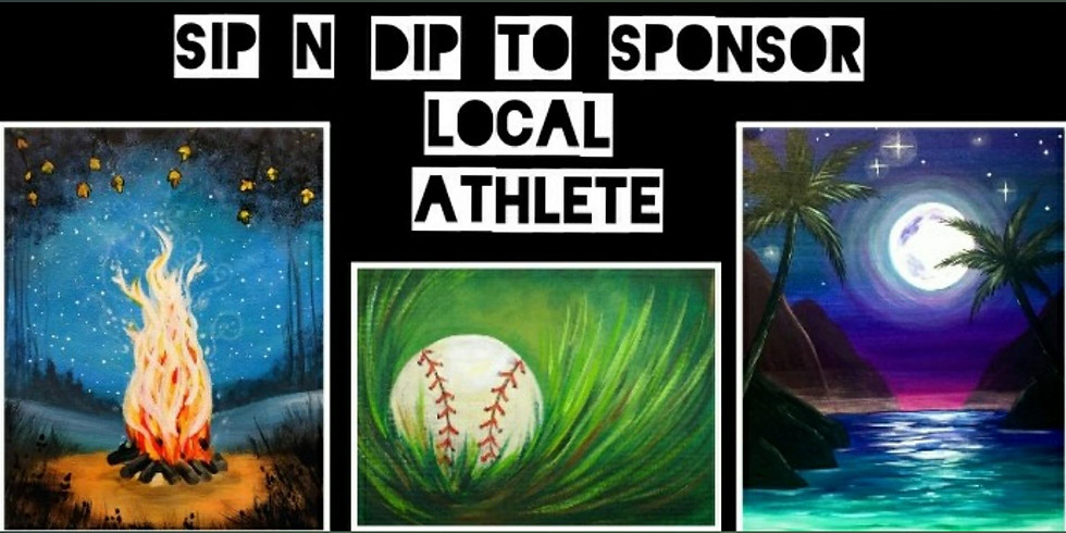 Sip n Dip Sponsors Local Athlete @ The Greene Turtle DCL