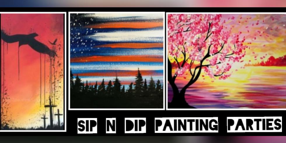 Sip N Dip Trio for DAR/Wreaths Across America