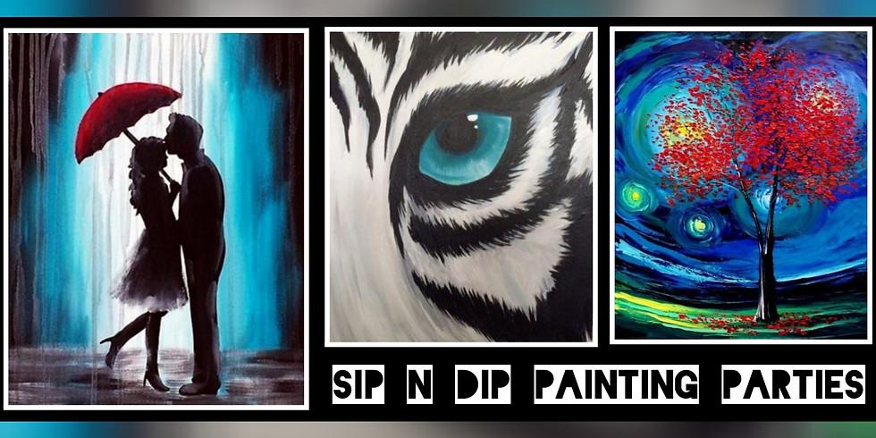 Sip N Dip® Psychic Medium Paint Night at Buffalo Wild Wings (Morgantown WV)