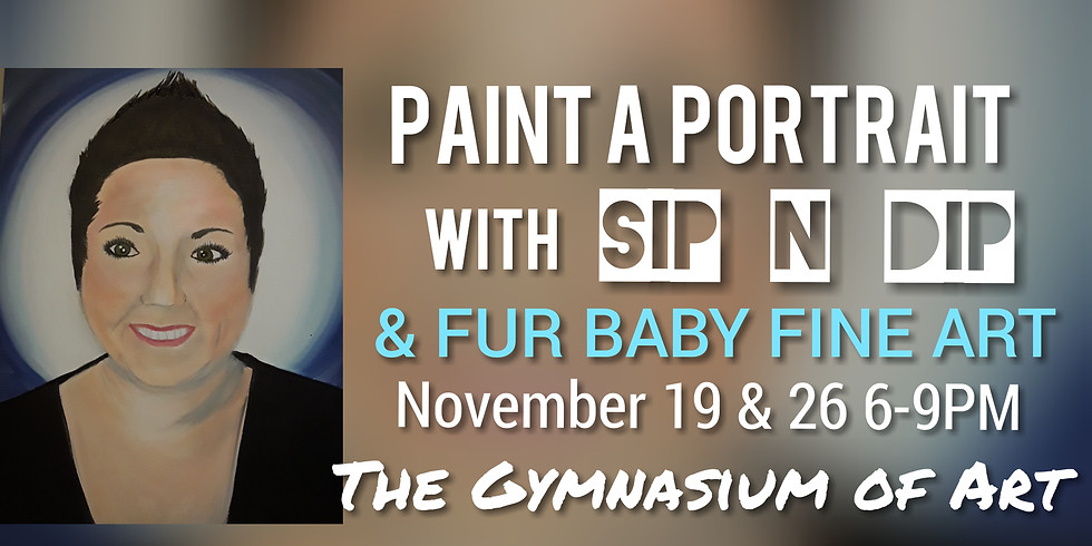 Paint a Portrait with Sip N Dip and Fur Baby Fine Art