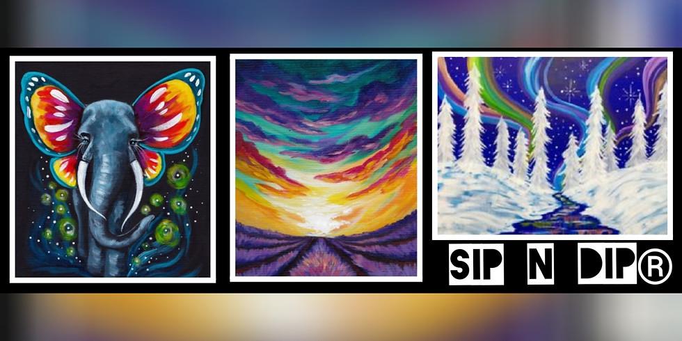 Sip N Dip® The Ultimate Paint Night Experience (Morgantown, WV)