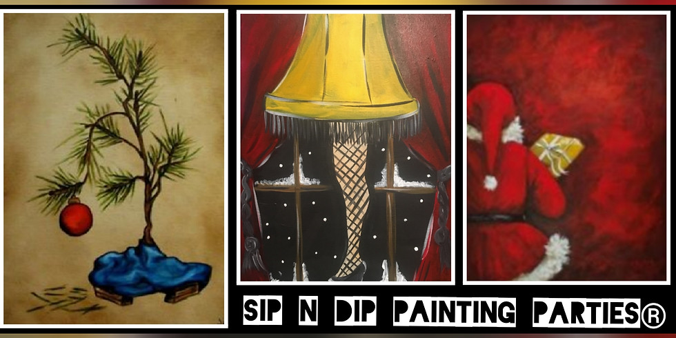 Sip N Dip® Psychic Medium Paint Night (Cumberland, MD)!!!SOLD OUT!!!