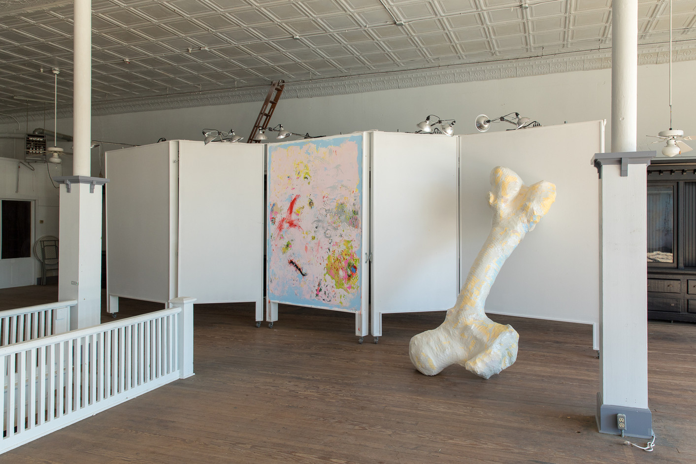 For Joan (left), For Claes (right), 2018