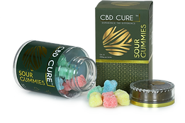 CBD Cure Sour Gummies
