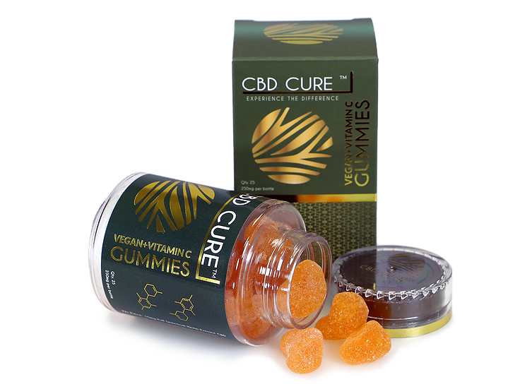 250mg CBD VEGAN + VITAMIN C GUMMIES