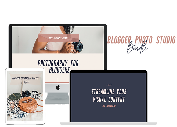 Blogger Photo Studio Bundle