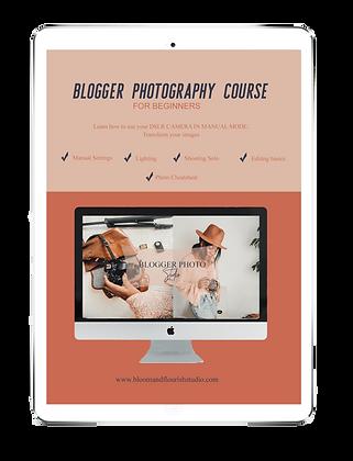Blogger Photo Studio Course: DSLR