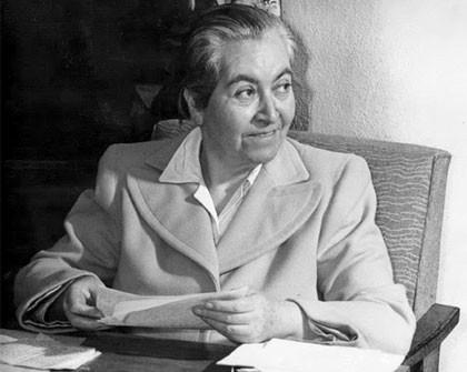 Gabriela Mistral  Una peculiar feminista 1889-1957