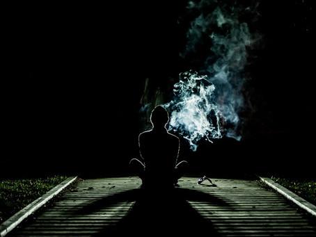 Un cigarro al atardecer