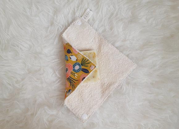 Pochette savon/serviette x1 - motif au choix