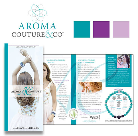 Retail Industry: Trifold Brochure