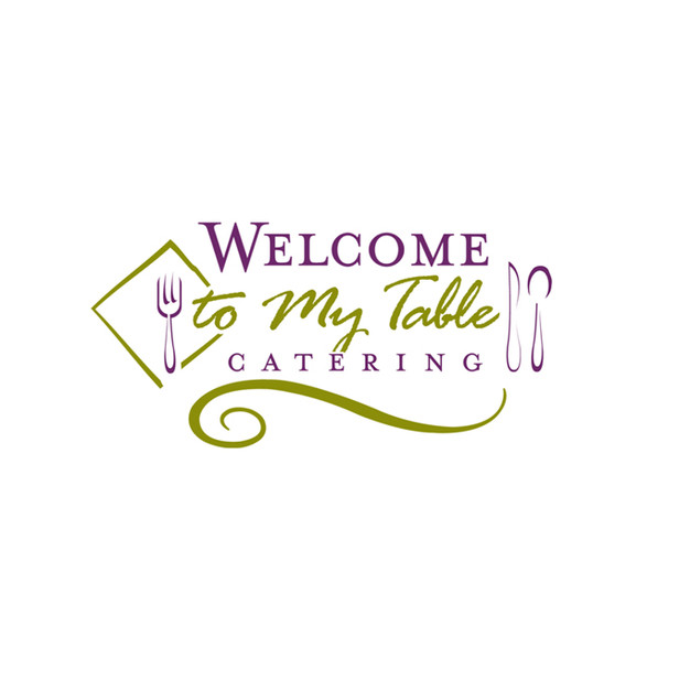 Welcome to My Table Catering Logo Design