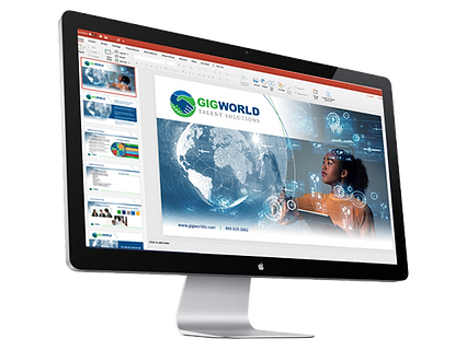 GigWorld Corporate PPT Template