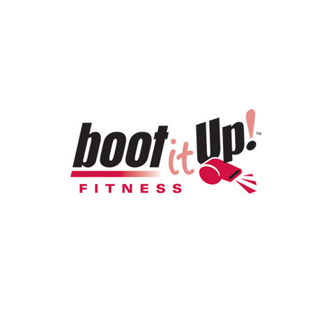 Boot it Up Fitness Logo Design