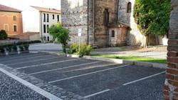 Parcheggio dietro la Chiesa S.Antonio a Marostica