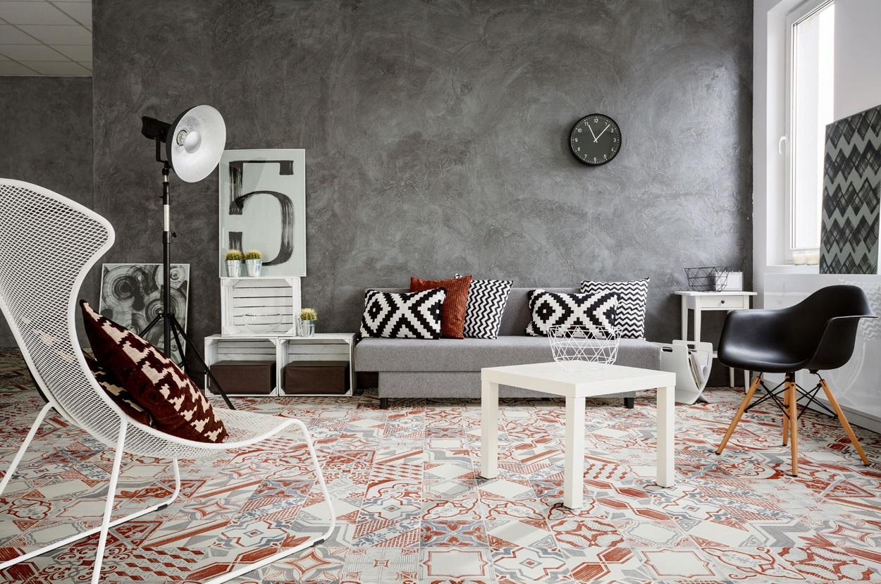LeRiggiole Bianco Rosso 20x20