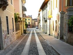 Via Cesare Battisti a Marostica (Vi)