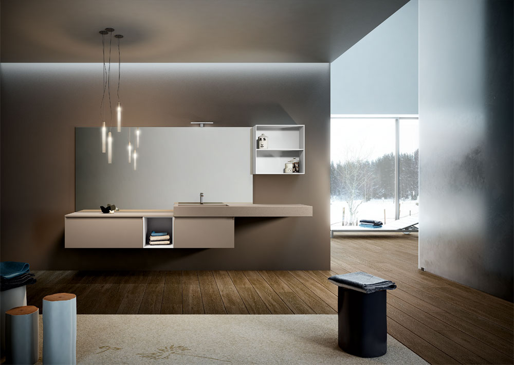 very wood bagno moderno toema