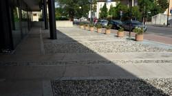 Piazzale galleria Viale Pecori Girardi a Bassano del Grappa (Vi)