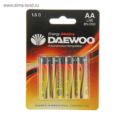 Батарейки AA-LR-06 DAEWOO