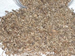 Shredded beet pulp