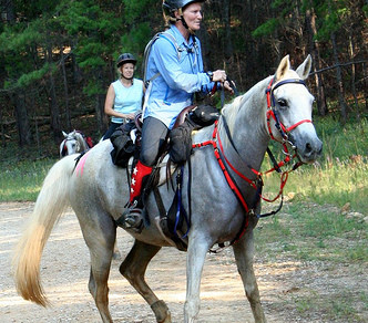 Riding Spooky Horses on the Trail