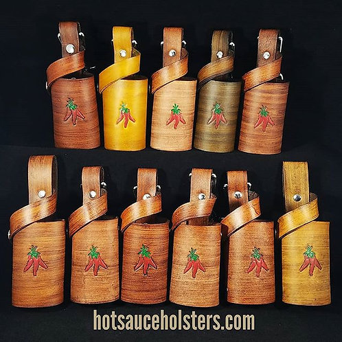 Chili Pepper Stamped Holster