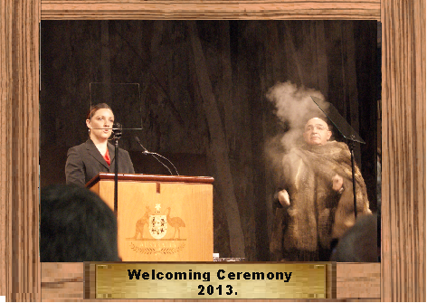 014 Welcome Ceremony 2013