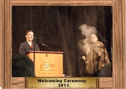 014 Welcome Ceremony 2013