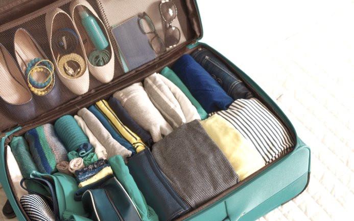 Comment ranger dans la valise