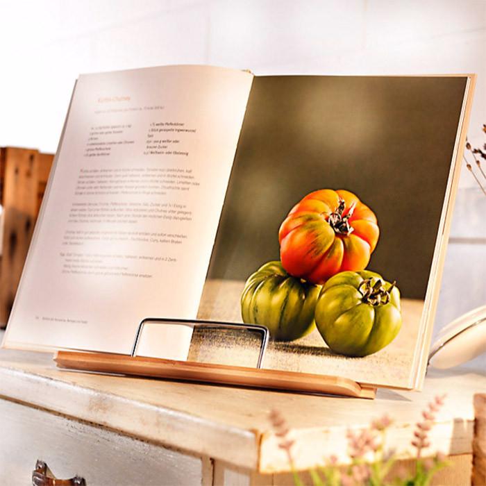 Support de livre de cuisine